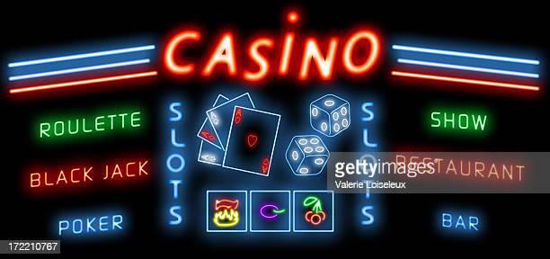 Drogué casino (la Roulette, Black Jack.