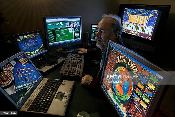 Addicted to the gambling of the Casinos by internet Gonzalo Garcia Pelayo professional gambler