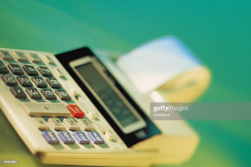 Adding machine : Stock Photo