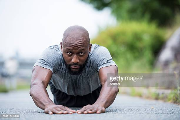 Adding some push-ups on the end of training