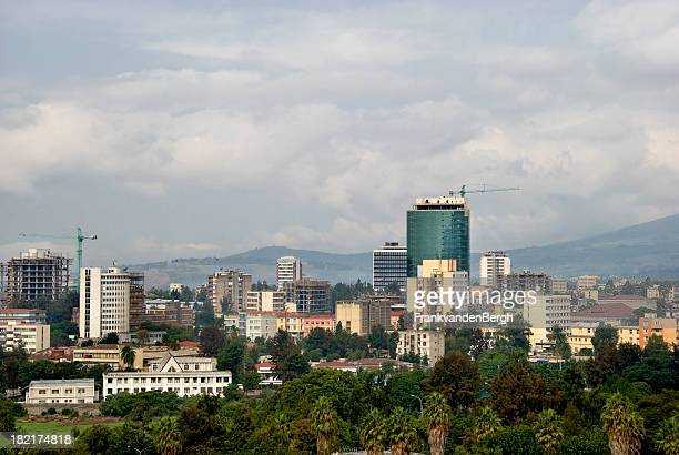 Addis-Abeba vue sur la ville