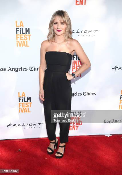 Addison Timlin attends the screening of 'Submission' during the 2017 Los Angeles Film Festival at Arclight Cinemas Culver City on June 19 2017 in...