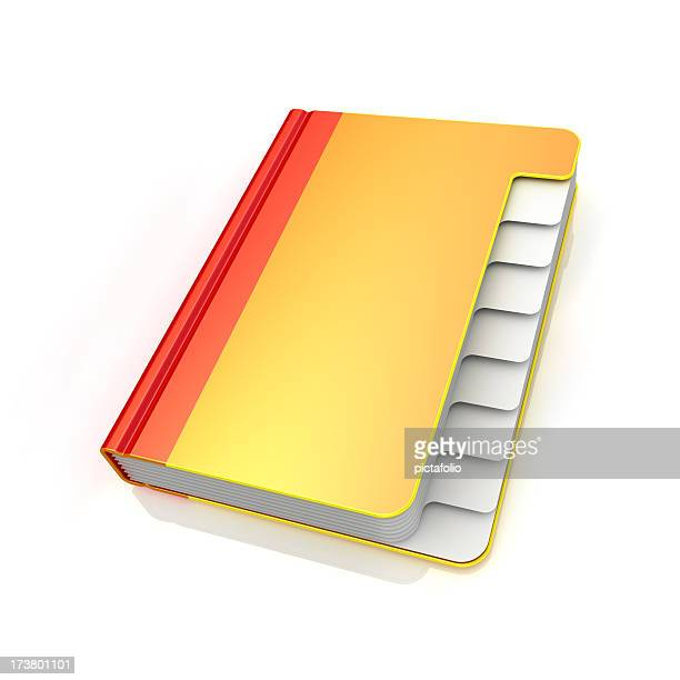 address book - blank