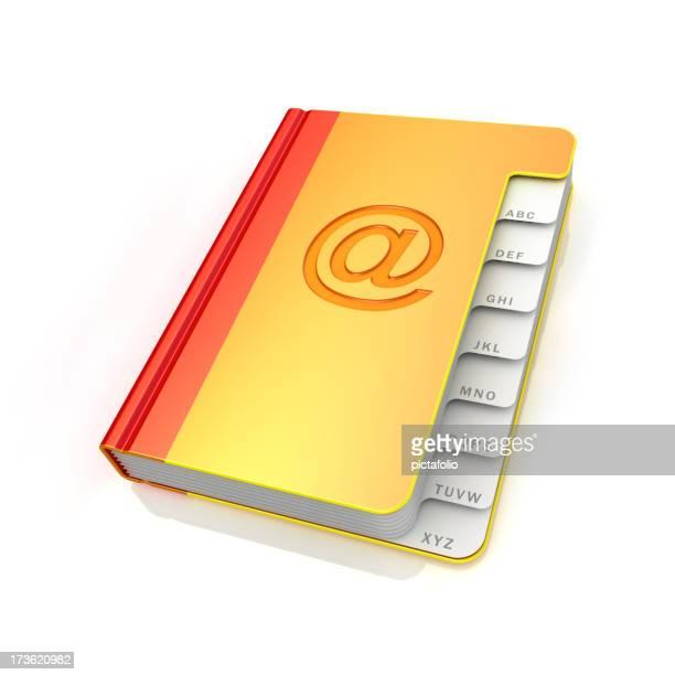 Address book - emails