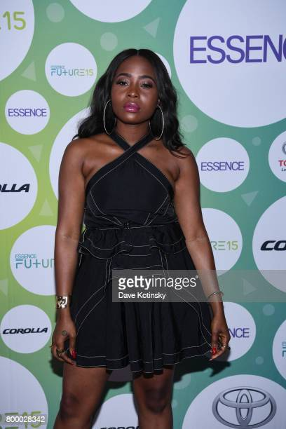 Ade Samuel attends the Essence Toyota Future 15 Event at Root NYC on June 22 2017 in New York City