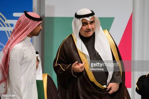 Adel bin Muhammed Fakieh Saudi Arabia's economy and planning minister right attends the Saudi ArabiaJapan Business Forum for Saudi Arabia Vision 2030...