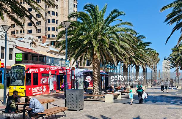 Adelaide beachside suburb of Glenelg
