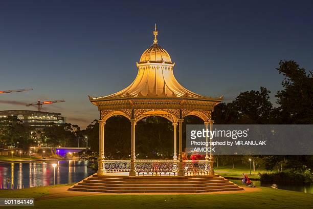 Adelaide City at twilight time, South Australia