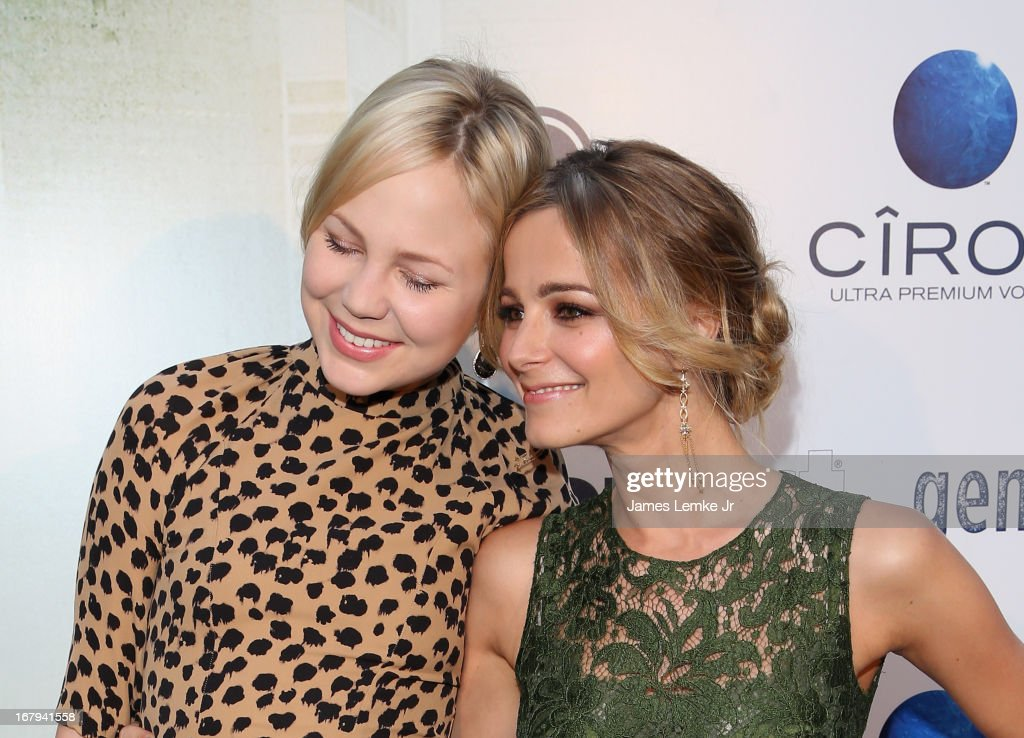 <a gi-track='captionPersonalityLinkClicked' href=/galleries/search?phrase=Adelaide+Clemens&family=editorial&specificpeople=4687667 ng-click='$event.stopPropagation()'>Adelaide Clemens</a> and <a gi-track='captionPersonalityLinkClicked' href=/galleries/search?phrase=Bojana+Novakovic&family=editorial&specificpeople=2748501 ng-click='$event.stopPropagation()'>Bojana Novakovic</a> attend the 'Generation Um' Los Angeles premiere presented by GenArt and Phase 4 Films held at the ArcLight Hollywood on May 2, 2013 in Hollywood, California.
