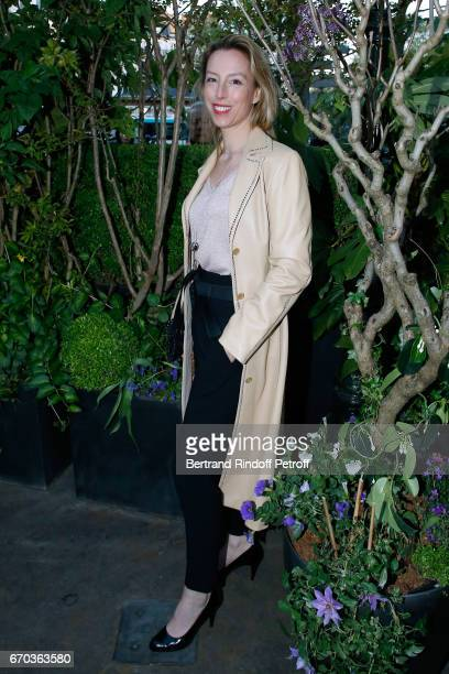 Adelaide de Clermont Tonnerre attends 'La Closerie des Lilas' Literary Awards 2017 at La Closerie des Lilas on April 19 2017 in Paris France