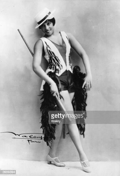 Adelaide Hall star of Lew Leslie's new Paris show 'Blackbirds'