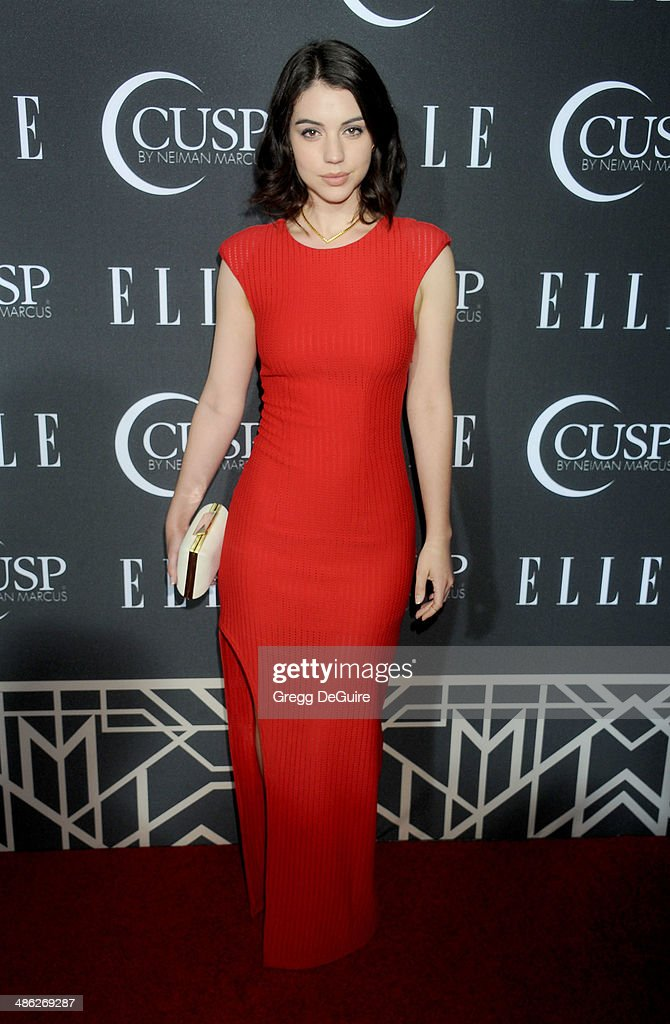 Adelaide Kane arrives at ELLE's 5th Annual Women In Music concert celebration at Avalon on April 22, 2014 in Hollywood, California.