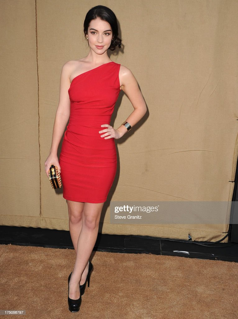 Adelaide Kane arrives at the Television Critic Association's Summer Press Tour - CBS/CW/Showtime Party at 9900 Wilshire Blvd on July 29, 2013 in Beverly Hills, California.