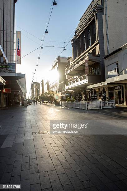 Adelaide shopping street