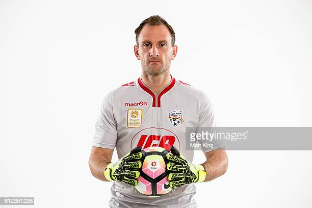 Adelaide United captain Eugene Galekovic poses during the 2016/17 ALeague Season Launch at ANZ Stadium on October 4 2016 in Sydney Australia