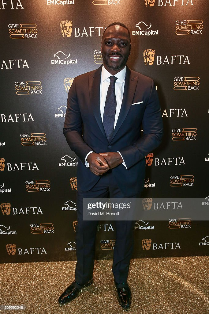 Adele Akinnouye-Agbaje attends the BAFTA Film Gala in aid of the 'Give Something Back' campaign at BAFTA Piccadilly on February 11, 2016 in London, England.