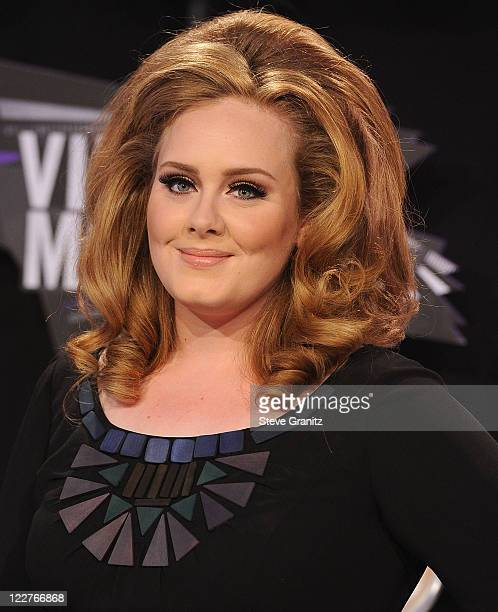 Adele attends the 28th Annual MTV Video Music Awards at Nokia Theatre LA Live on August 28 2011 in Los Angeles California