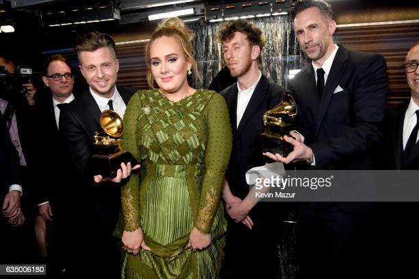 Adele attends The 59th GRAMMY Awards at STAPLES Center on February 12 2017 in Los Angeles California