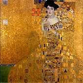 Adele BlochBauer I 1907 Found in the collection of the Neue Galerie New York