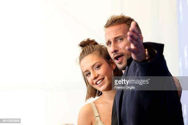 Adele Exarchopoulos and Matthias Schoenaerts attends the 'Racer And The Jailbird ' photocall during the 74th Venice Film Festival at Sala Casino on...