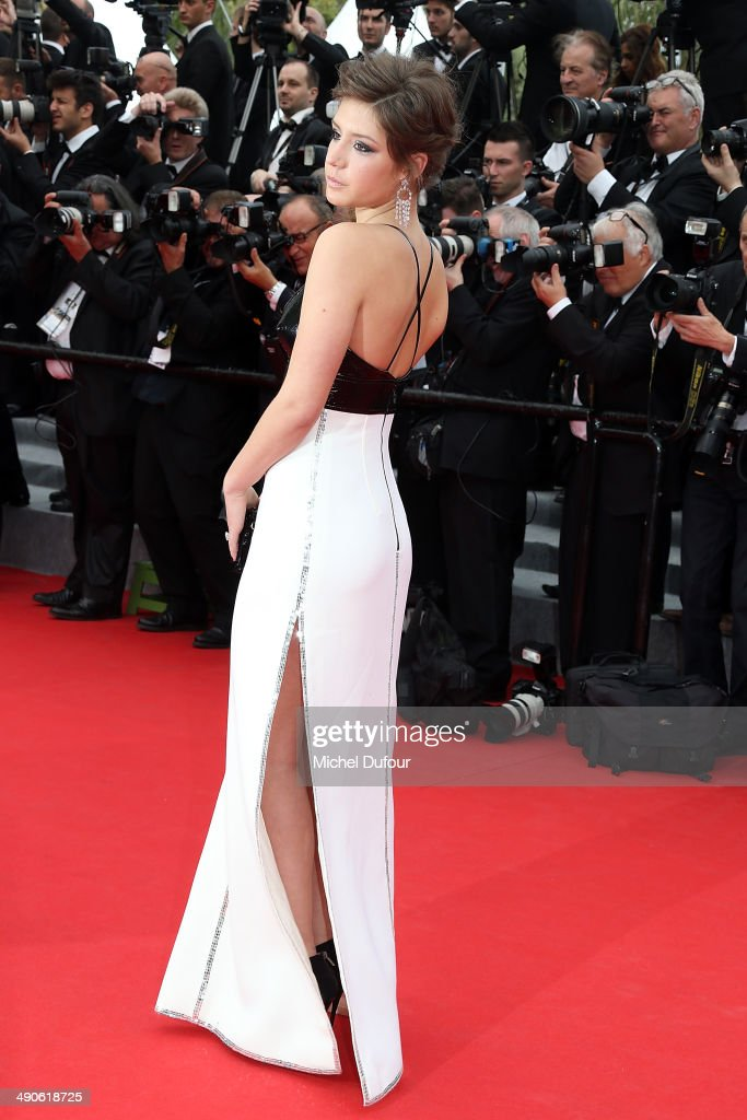 Adele Exarchopoulos attends the Opening ceremony and Premiere of 'Grace of Monaco' at the 67th Annual Cannes Film Festival on May 14, 2014 in Cannes, France.