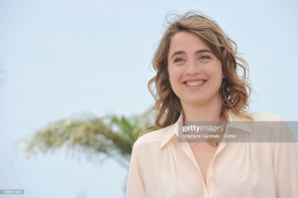 Adele Haenel at the 'L'Homme Qu'On Aimait Trop' photocall during the 67th Cannes Film Festival