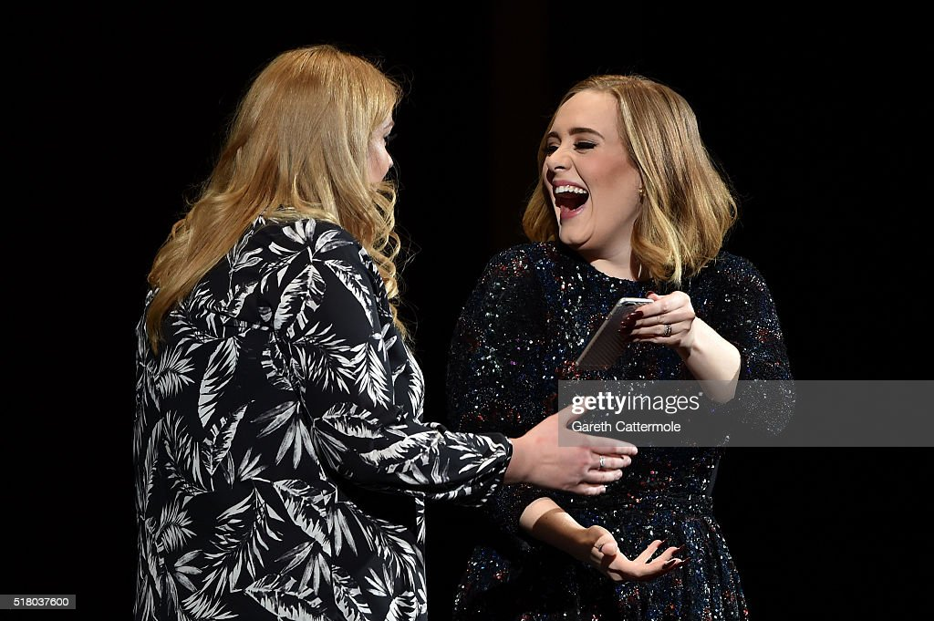 Adele Performs At The Genting Arena