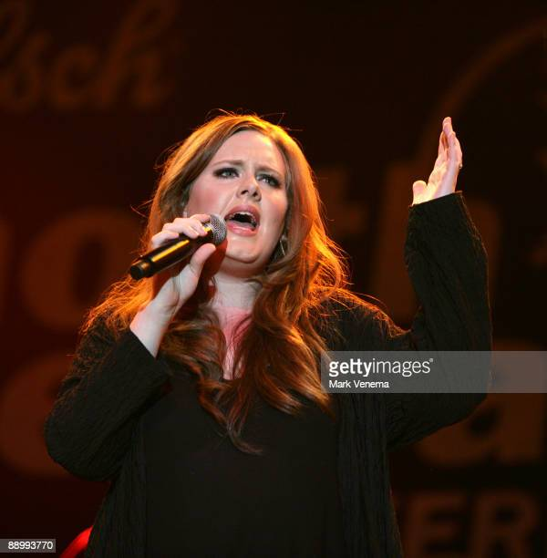 Adele performs live on day 3 of the North Sea Jazz Festival at Ahoy on July 12 2009 in Rotterdam Netherlands