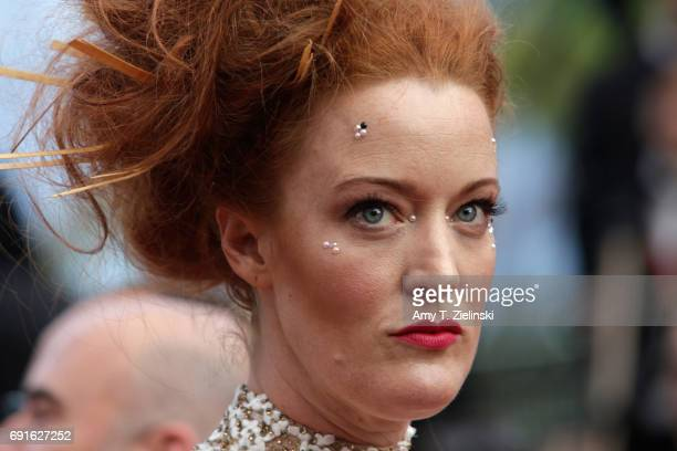 Adele Rene attends the 'Twin Peaks' screening during the 70th annual Cannes Film Festival at Palais des Festivals on May 25 2017 in Cannes France