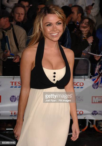 Adele Silva arrives for the Pride of Britain Awards 2007 The London Studios Upper Ground London SE1
