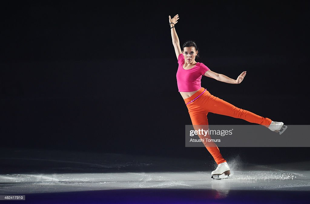 Adelina Sotonikova of Russia performs her routine during THE ICE 2014 at the White Ring on July 19, 2014 in Nagano, Japan.