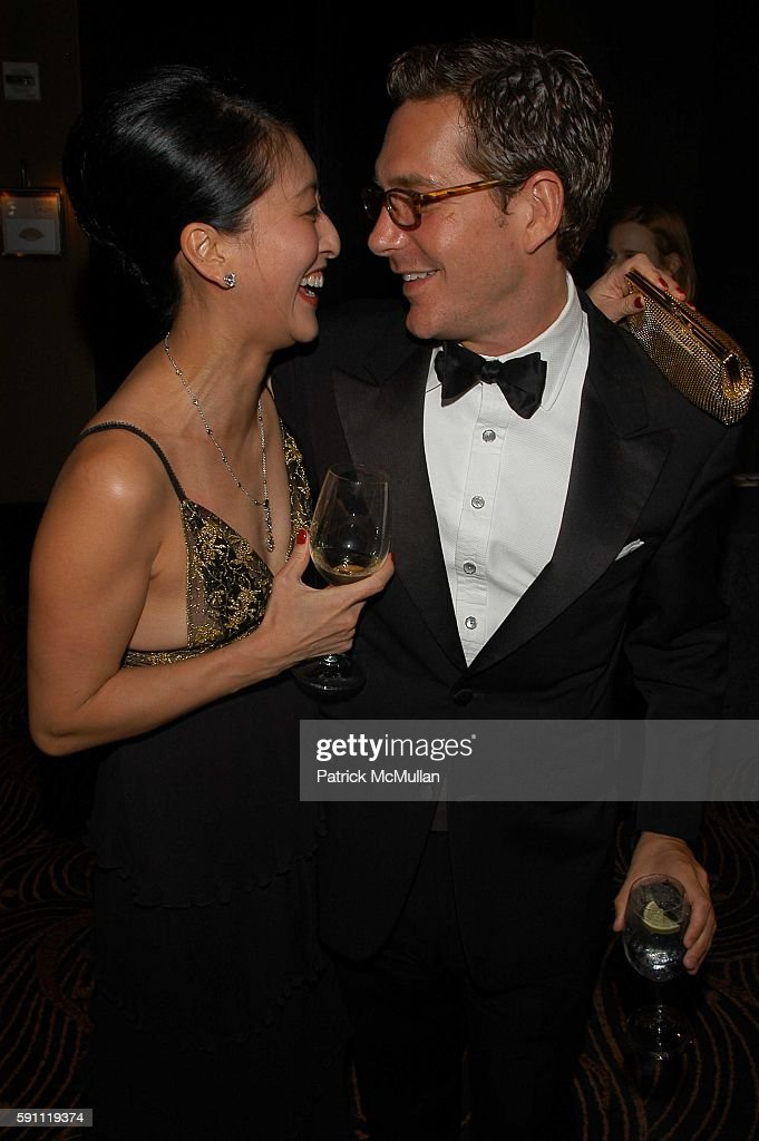 Adelina Wong Ettelson and Christian Leone attend The Friends of New Yorkers For Children New Years in April A Fools' Fete at The Ballroom Mandarin...