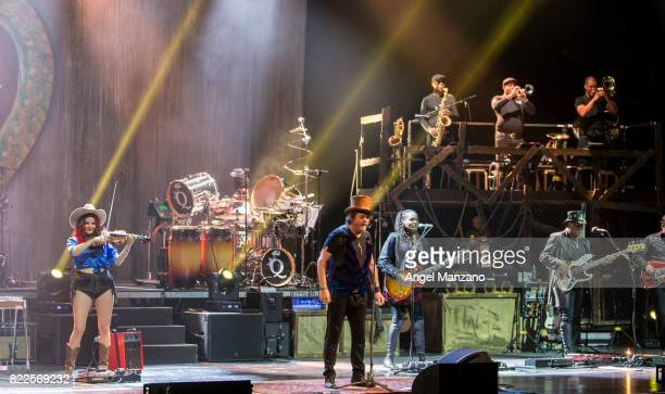 Adelmo Fornaciari Zucchero performs on stage during the Universal Music Festival at The Royal Theater on July 25 2017 in Madrid Spain