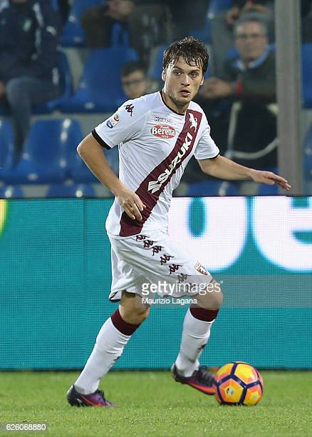 Adem Ljajic of Torino during the Serie A match between FC Crotone and FC Torino at Stadio Comunale Ezio Scida on November 20 2016 in Crotone Italy