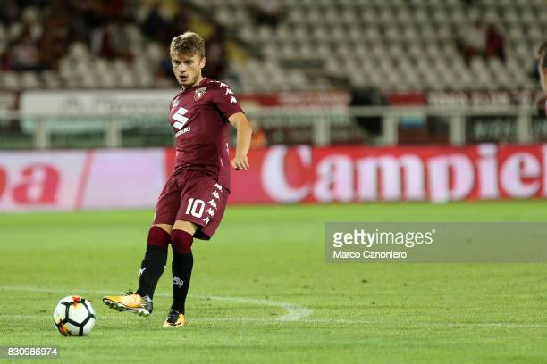 Adem Ljajic of Torino FC in action during the Italia Tim Cup match between Torino Fc and Trapani Calcio Torino Fc wins 71 over Trapani Calcio