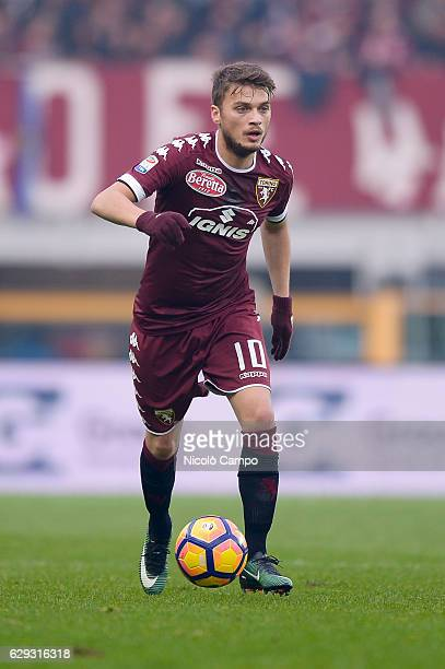 Adem Ljajic of Torino FC in action during the Serie A football match between Torino FC and Juventus FC Juventus FC won 31 over Torino FC