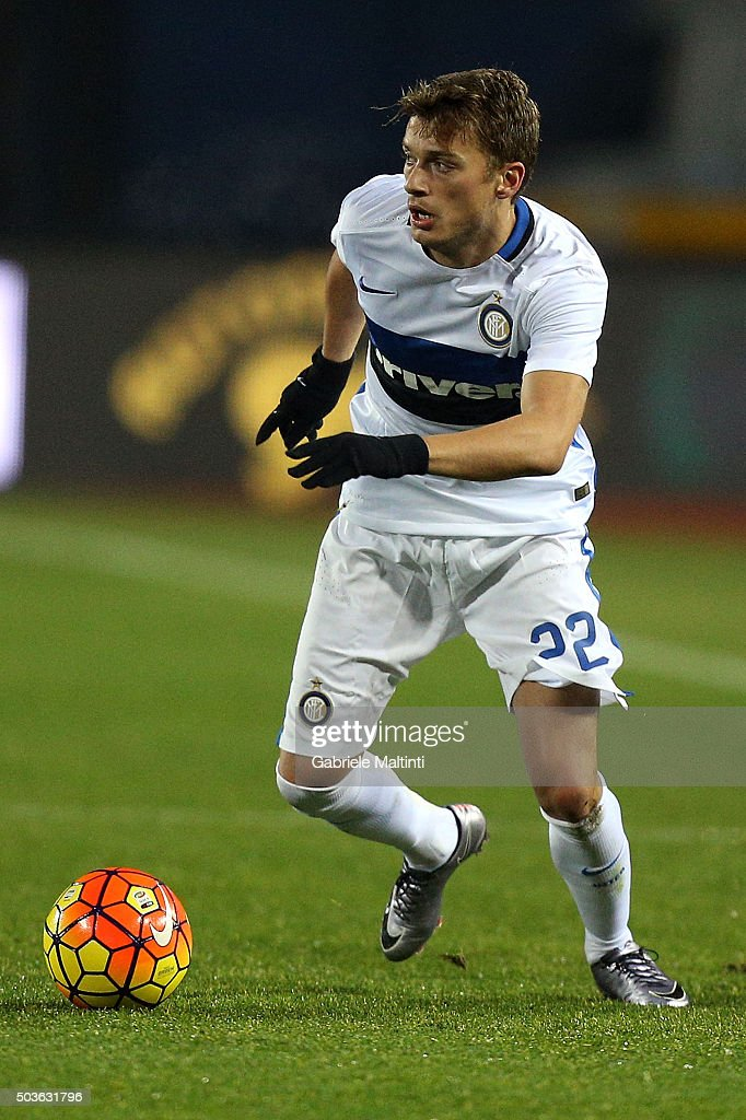 Adem Ljaljic of FC Internazionale Milano in action during the Serie A match between Empoli FC and FC Internazionale Milano at Stadio Carlo Castellani on January 6, 2016 in Empoli, Italy.