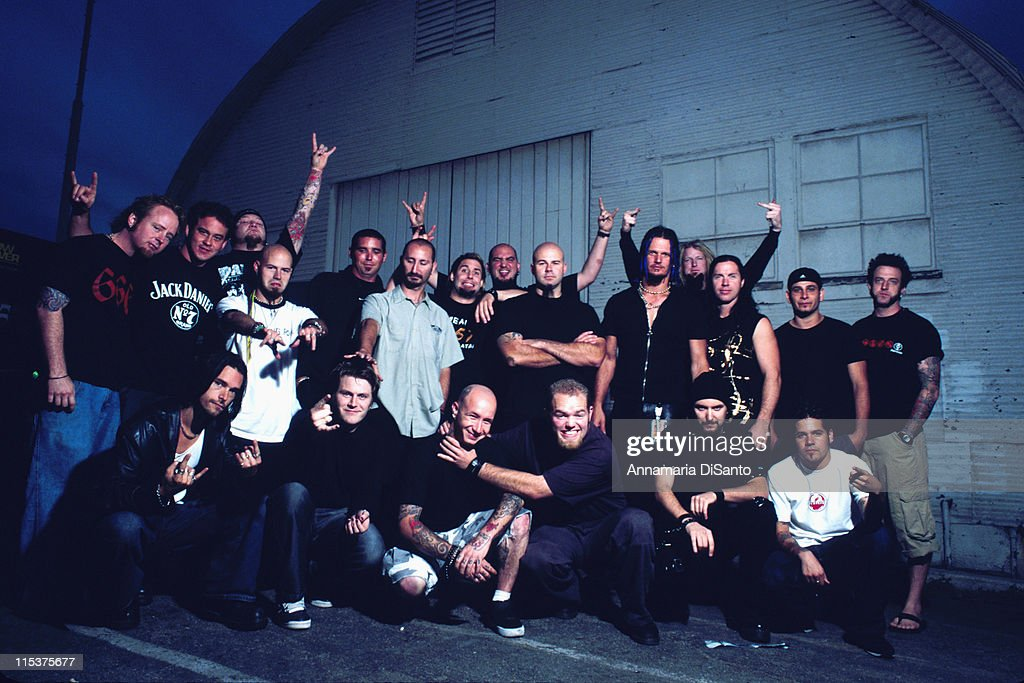 Disturbed, Adema, & Drowning Pool Photo Session