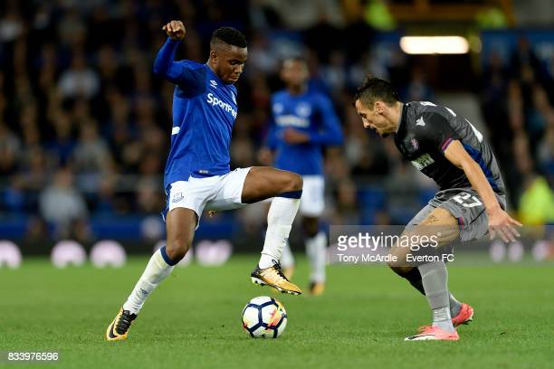 Ademola Lookman of Everton during the UEFA Europa League Qualifying PlayOff match between Everton and Hajduk Split at Goodison Park on August 17 2017...