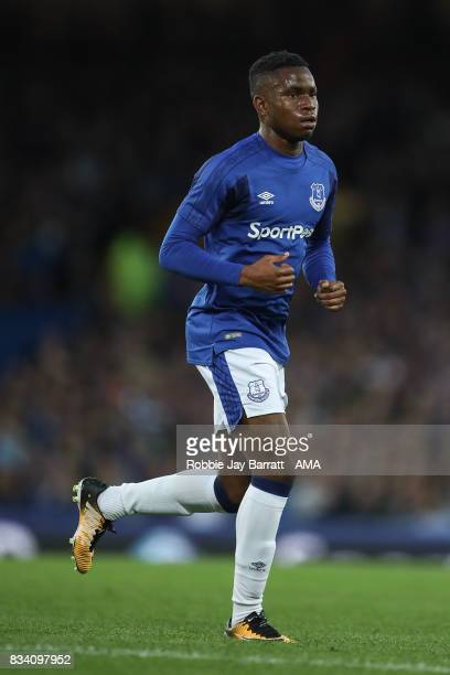 Ademola Lookman of Everton during the UEFA Europa League Qualifying PlayOffs round first leg match between Everton FC and Hajduk Split at Goodison...