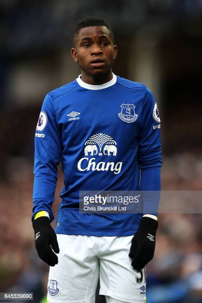 Ademola Lookman of Everton looks on during the Premier League match between Everton and Sunderland at Goodison Park on February 25 2017 in Liverpool...