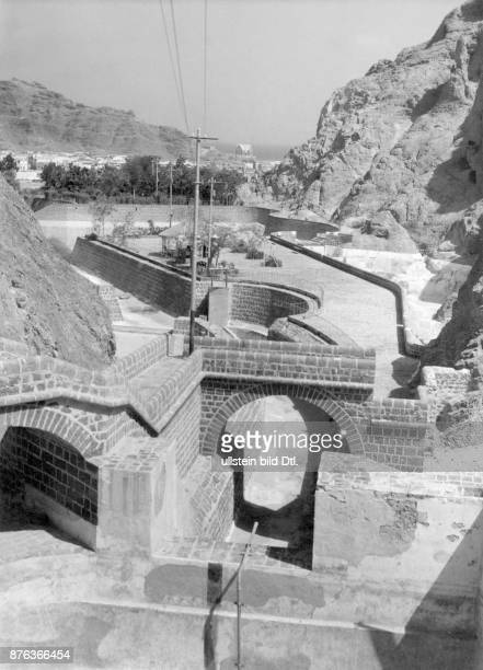 Aden water channel BOAC Photograph