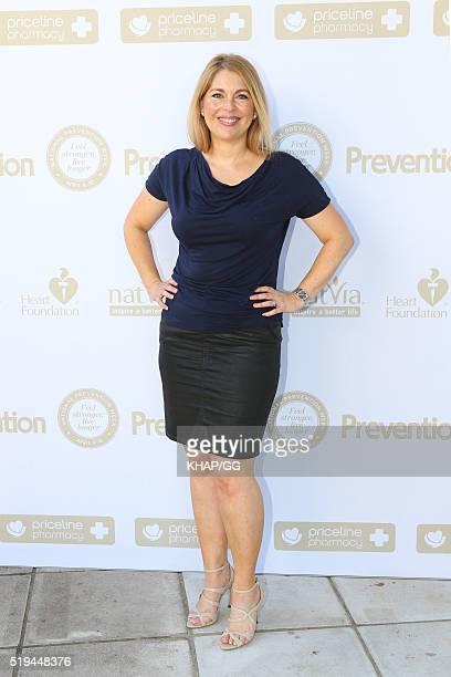 Adene Cassidy attends National Prevention Week Breakfast held at Catalina Restaurant on April 05 2016 in Sydney Australia