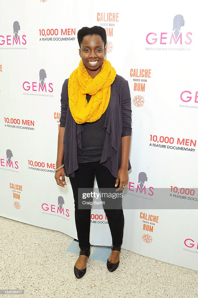 <a gi-track='captionPersonalityLinkClicked' href=/galleries/search?phrase=Adepero+Oduye&family=editorial&specificpeople=7364868 ng-click='$event.stopPropagation()'>Adepero Oduye</a> attends the GEMS Girls Like Us Benefit Gala hosted by Demi Moore And Rachel Lloyd at El Museo Del Barrio on October 17, 2012 in New York City.