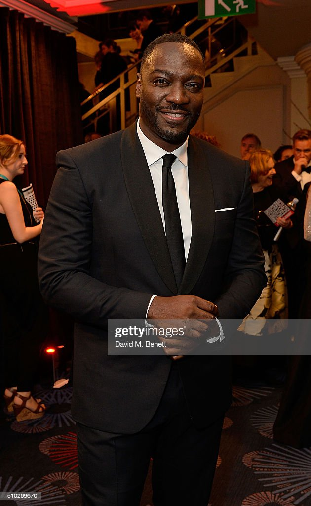 Adewale Akinnuoye Agbaje attends the official After Party Dinner for the EE British Academy Film Awards at The Grosvenor House Hotel on February 14, 2016 in London, England.