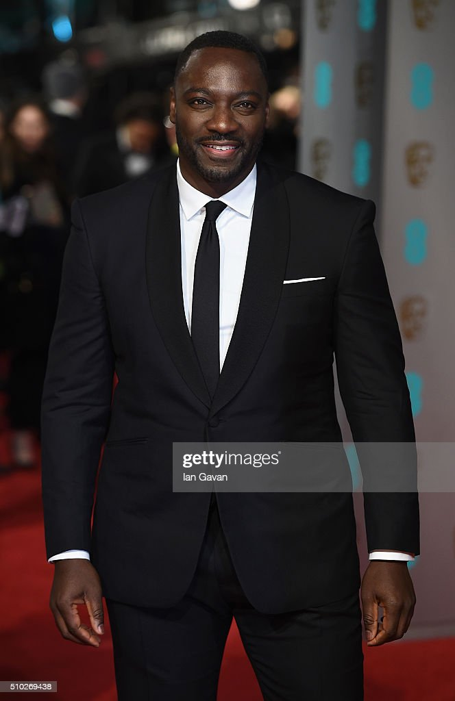 Adewale Akinnuoye-Agbaje attends the EE British Academy Film Awards at the Royal Opera House on February 14, 2016 in London, England.