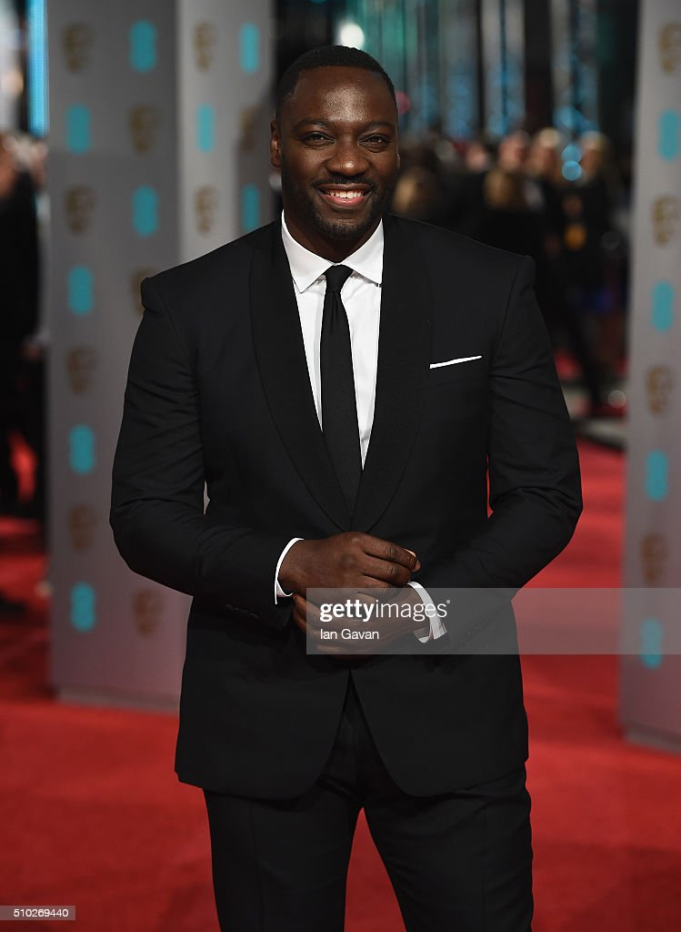 <a gi-track='captionPersonalityLinkClicked' href=/galleries/search?phrase=Adewale+Akinnuoye-Agbaje&family=editorial&specificpeople=787923 ng-click='$event.stopPropagation()'>Adewale Akinnuoye-Agbaje</a> attends the EE British Academy Film Awards at the Royal Opera House on February 14, 2016 in London, England.