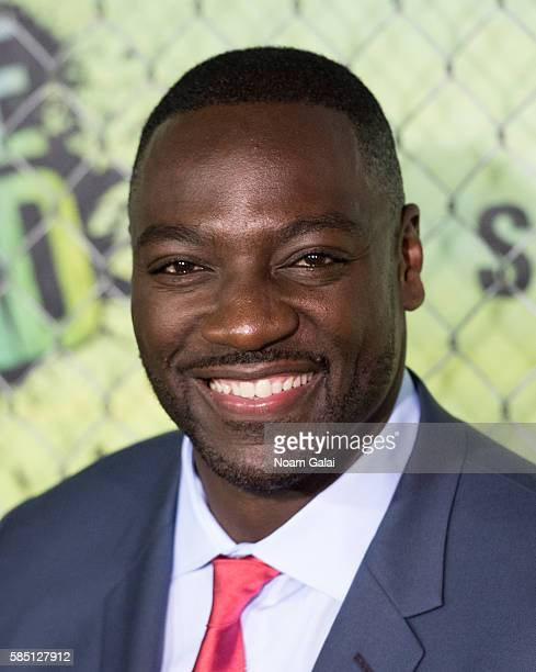 Adewale AkinnuoyeAgbaje attends the world premiere of 'Suicide Squad' at The Beacon Theatre on August 1 2016 in New York City