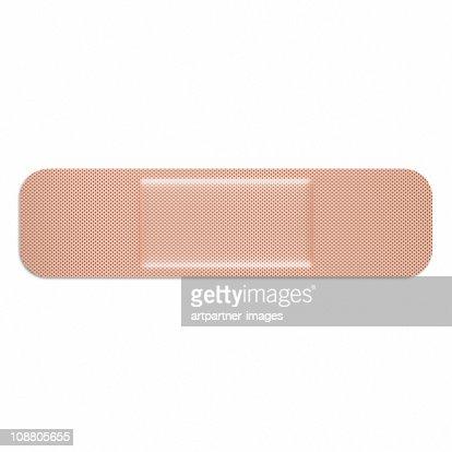 Adhesive Bandage or Elastoplast
