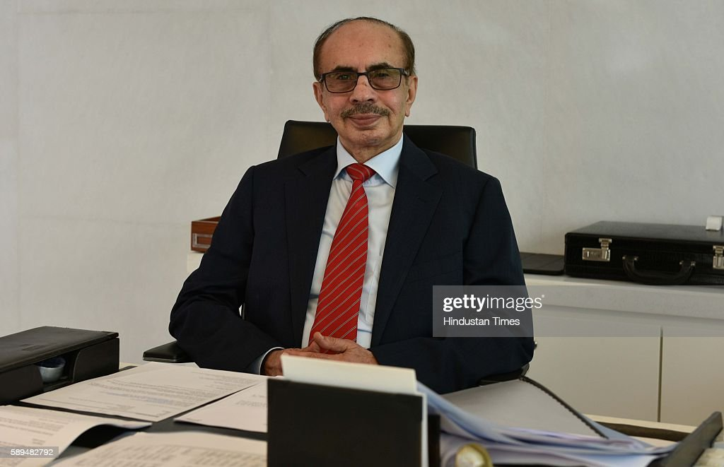 Adi Godrej, Chairman of Godrej Group, poses during an exclusive interview with Hindustan Times at Godrej One, on August 11, 2016 in Mumbai, India.